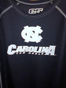 Vintage T Shirt - North Carolina Tar Heels Work Out E5 Brand Size M Blue College