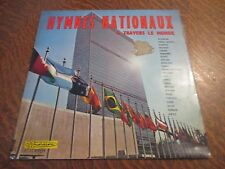 33 tours hymnes nationaux a travers le monde