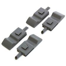 4 Fits Chevy/GMC Silverado/Sierra 07-13 Door Lock Knobs Front/Rear Titanium Grey