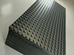 25 New Lego Baseplates 10 x 5 inch SLIGHTLY DAMAGED see pics perfect LEGO TABLE