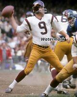 NFL Washington Redskins QB Sonny Jurgensen Game Action Color 8 X 10 Photo Pic