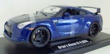 Voitures, camions et fourgons miniatures bleus pour Nissan 1:18