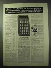 1977 Commodore SR4190R Calculator Ad - You Can be Using