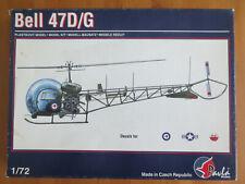 MAQUETTE 1/72 - PAVLA - Bell 47 D/G