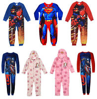 Official Girls Boys Character Disney Superman Frozen Avengers Spiderman 1Onesie