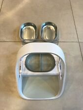 Sure Petcare MPF001 Microchip Pet Feeder - White
