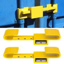 2x Container Lock Security Lock Theft Protection U-Lock 4 Schlüssel