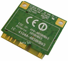 Atheros AR5BHB63 Mini PCI-E Half Height Wireless Card T77H032