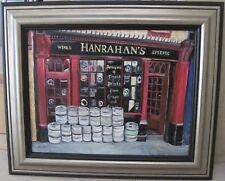 HANRAHAN'S Pub New Ross Ireland Oil Painting 14x18 Art Sullivan (American-Irish)