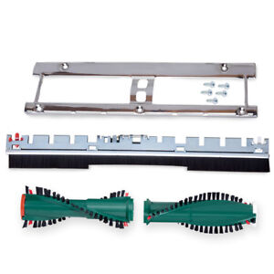Set passend für Vorwerk Elektrobürste EB 350 351 Bodenblech Ersatzbürsten Kobold