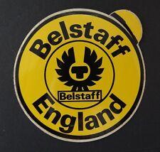 Étiquette Belstaff Angleterre Moto Porter 70er Trialmaster Voiture Ancienne