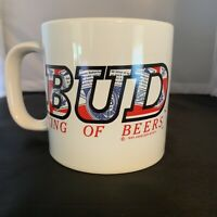 Anheuser Busch Budweiser 1995 King of Beers Ceramic Coffee Mug