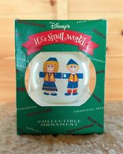 Vintage 1995 Disney Its a Small World Collectible Christmas Ornament - Norway