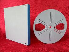 1 Stück 180 Meter Super 8 Filmspule, grau in Stocko-Dose. Gebraucht. 180/26