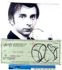 More details for phil spector vintage signed bank cheque / check aftal#145