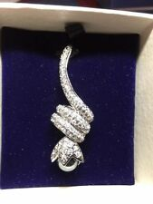 Unbranded Rhodium Pearl Fashion Necklaces & Pendants