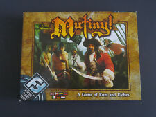 Mutiny Board Game by Kevin Wilson's Fantasy Flight Games A Game of Rum & Riches