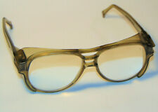 VINTAGE Z87 AO AMERICAN OPTICAL AEROSITE SAFETY GLASSES WITH MAGNIFIER LENSES!