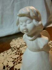 Goebel Angel Bell White Porcelain Bisque 1973 West Germany #5719713