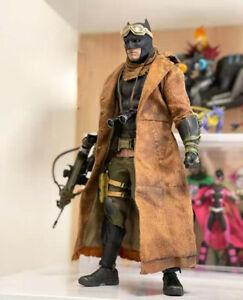 ELEVEN 1/6 Scale Coat Nightmare Batman Leather Overcoat for 12in. Figure New Hot