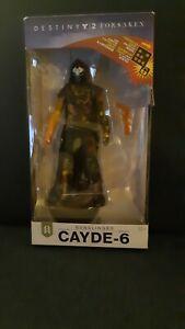 McFarlane Toys Destiny 2 Forsaken Gunslinger Cayde-6 Action Figure (NO EMBLEM!)