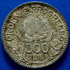 More details for republic of brazil 1913a 1000 reis, (no dash between stars).             ch9-368