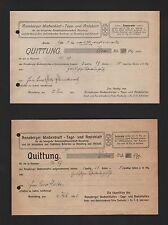 ANNABERG, Brief 1910/11, Annaberger Wochenblatt Tage-Amtsblatt