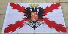 Bandera Imperio Español Aspas de Borgoña águila bicéfala 150x90cm nueva