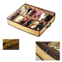 Non-woven Storage Box Shoes Organizer Holder Container Under Bed Fast shipping