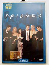 DVD Film Friends Le grandi serie Tv Sorrisi e Canzoni Stagione 8 Episodi 19-24