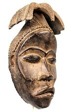 Art Africain Tribal - Rare Masque Addjoukrou - Coiffe d'Exception - 30 Cms +++++