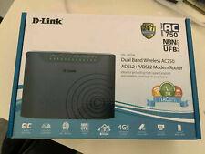 D-Link AC750 Dual Band Wireless Modem Router NBN ADSL