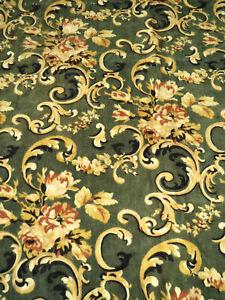 Antique Portiere Velvet Victorian 1880 Drape