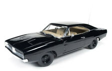 1969 Dodge Charger Dukes of Hazzard generale Lee Nero 1:18 AUTO World awss 110