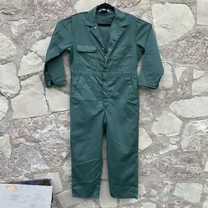 Vintage Big Mac Coveralls USA MADE Size 42 S Mechanic Work Jumpsuit