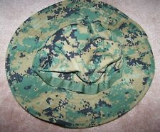 Usmc Boonie Hat, Marpat Woodland Digital Camo Cover, Small, U.S. Issue *Nice*