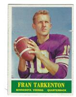 1964 Philadelphia #109 Fran Tarkenton Minnesota Vikings Football Card