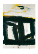 Franz Kline Zinc doors Poster Kunstdruck Bild 90x70cm
