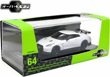 OVERSTEER 2014 NISSAN GT-R NISMO 1:64 SCALE [WHITE] VERSION 2.0 SERIES