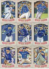 2016 Gypsy Queen Toronto Blue Jays MASTER Team Set (15 Cards)