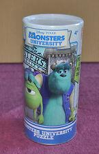 Disney Monsters University Rompecabezas Y Poster En Tubo