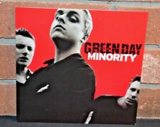 """GREEN DAY - Minority, Limited Edition TRANS GREEN VINYL 7"""" EP NEW!"""