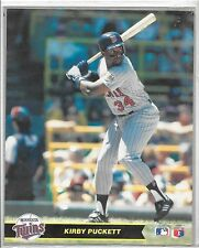Sealed 1990 Major League Baseball Kirby Puckett Action Photos Series 1