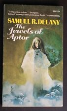 SAMUEL R DELANEY THE JEWELS OF APTOR ACE SF VG JEFF JONES COVER ART