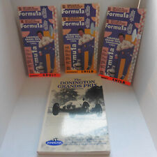 Donington Grands Prix by Dave Fern + 3 Formula 1 Tickets from 1993 Top condition