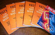 1971 71 Shop Manuals Ford Mach1 Mustang Torino Cobra GT Galaxie Lincoln Mercury