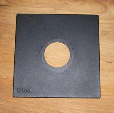 Genuine más tarde Sinar F & P Lente Board Panel con copal 1 Compur 42.5 mm Hole