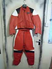 BRAND NEW 80,S MIKE LEWIS CRUSADER LEATHERS SUIT JACKET TROUSERS SIZE 38 OR 12