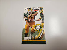 Rs20 Edmonton Eskimos 1989 Cfl Football Pocket Schedule - Cfrn