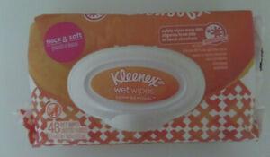 Kleenex Wet Wipes Flip Top 48ct Wipes New Sealed